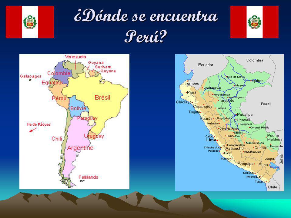 ¿Dónde se encuentra Perú?