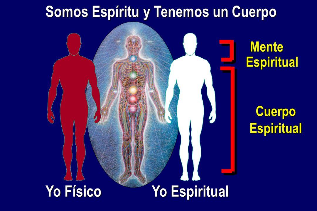Mente Espiritual CuerpoEspiritual Yo Físico Yo Espiritual Somos Espíritu y Tenemos un Cuerpo