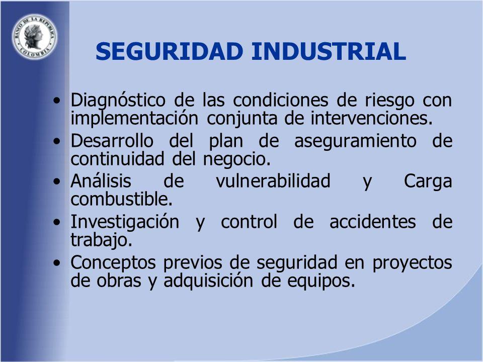 Diagnóstico de las condiciones de riesgo con implementación conjunta de intervenciones.