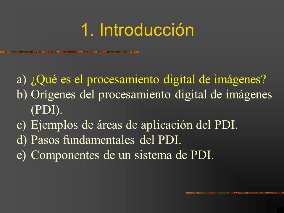 ¿Qué es el Procesamiento Digital de Imágenes?