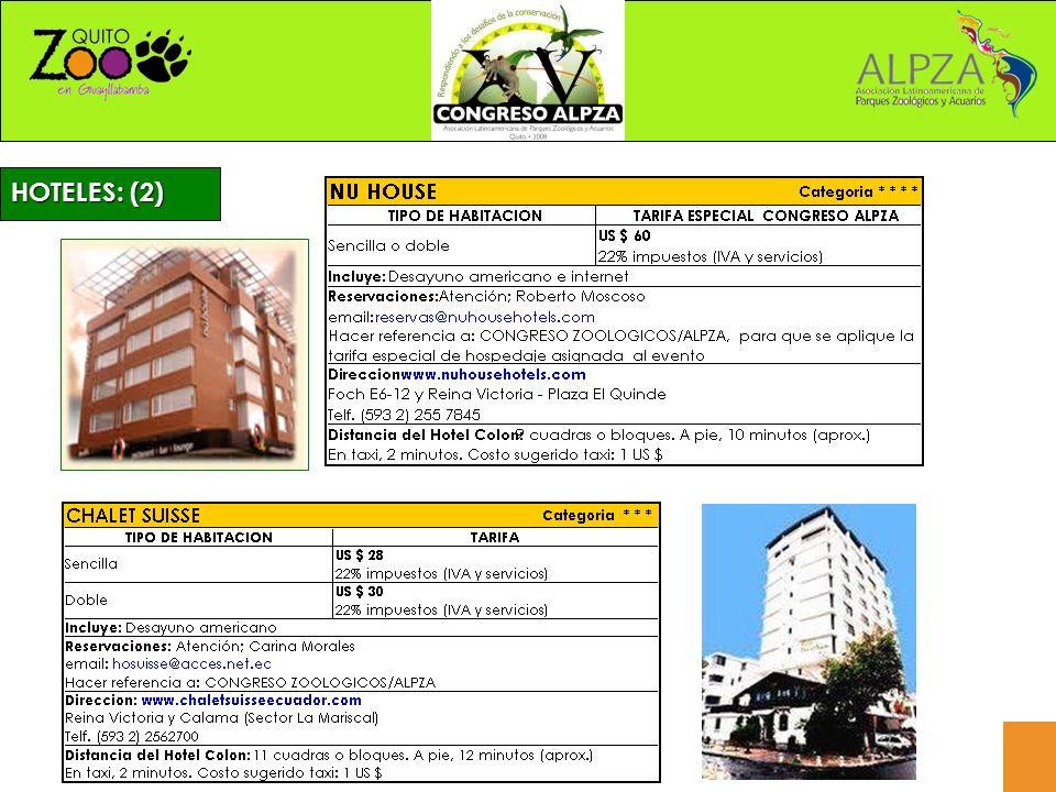 HOTELES: (2)