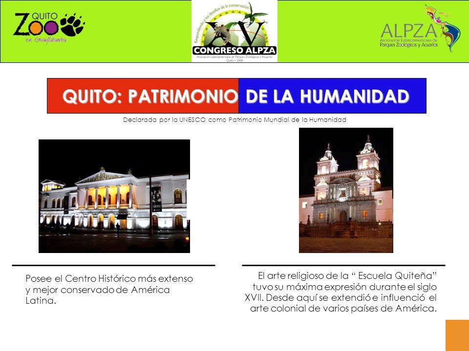 Declarada por la UNESCO como Patrimonio Mundial de la Humanidad Posee el Centro Histórico más extenso y mejor conservado de América Latina.