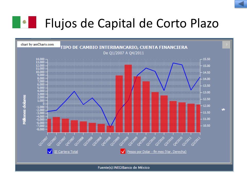 Flujos de Capital de Corto Plazo