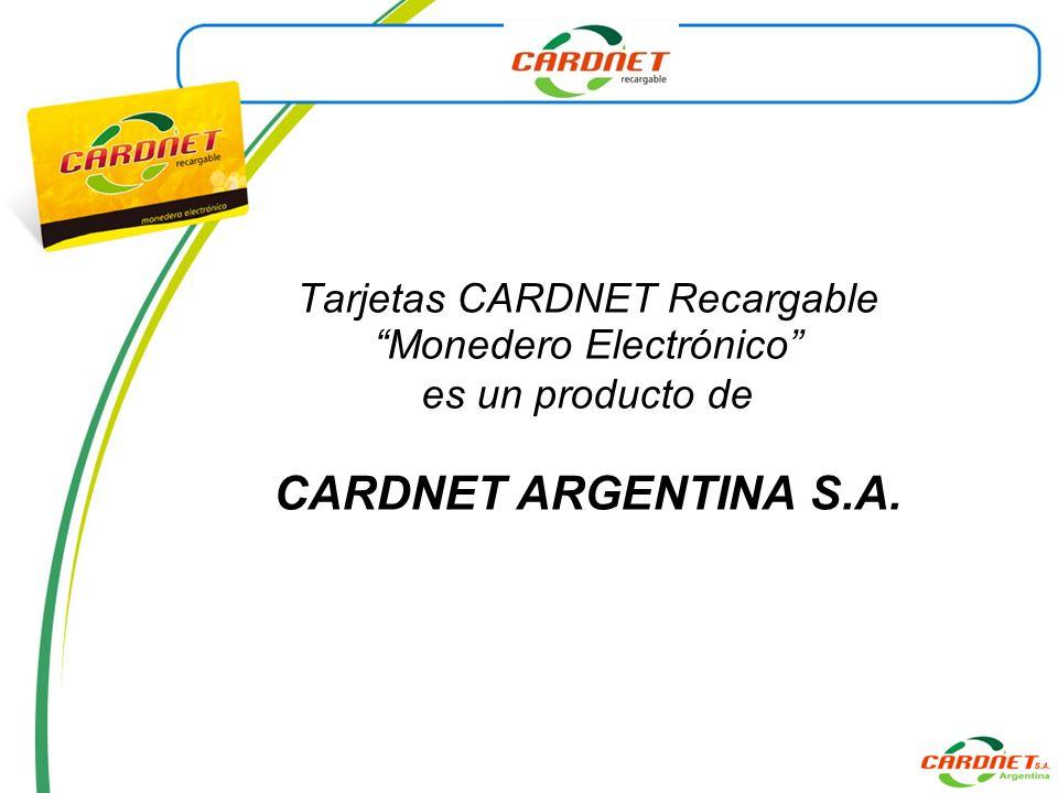 Las ventas (transacciones) realizadas con CARDNET se procesan en no más de 3 segundos a partir del reconocimiento de la tarjeta de manera electrónica.