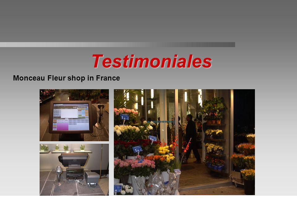 Testimoniales Monceau Fleur shop in France