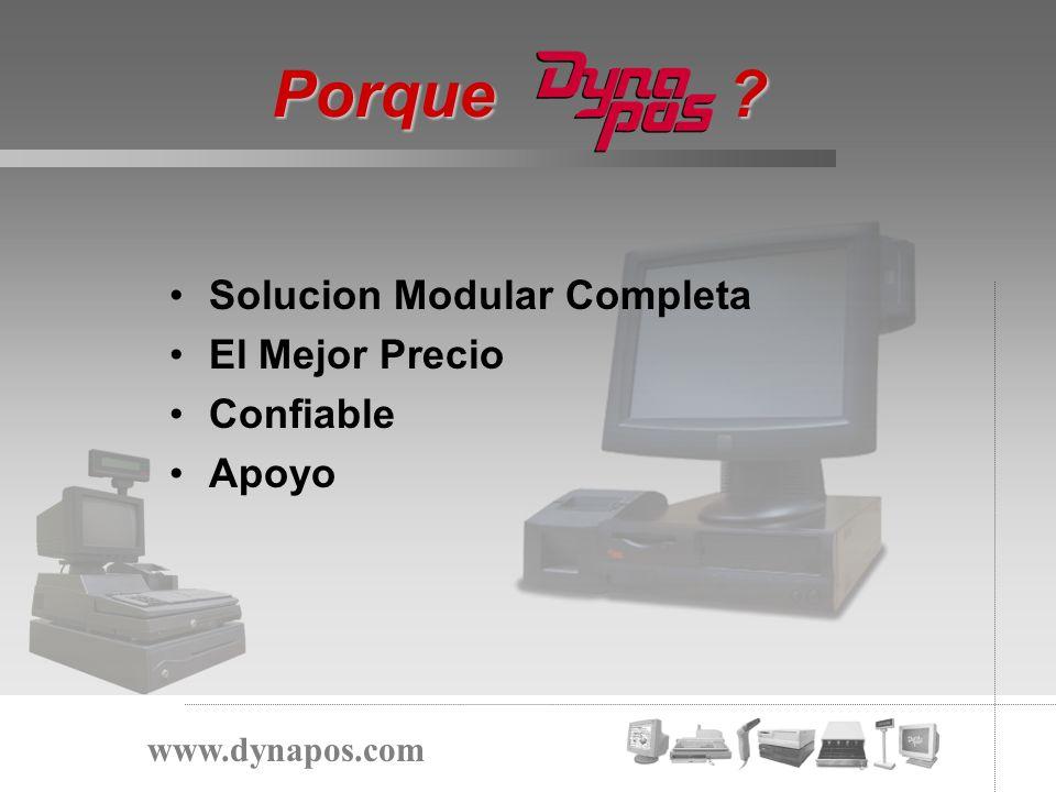 Solucion Modular Completa El Mejor Precio Confiable Apoyo Porque ? www.dynapos.com