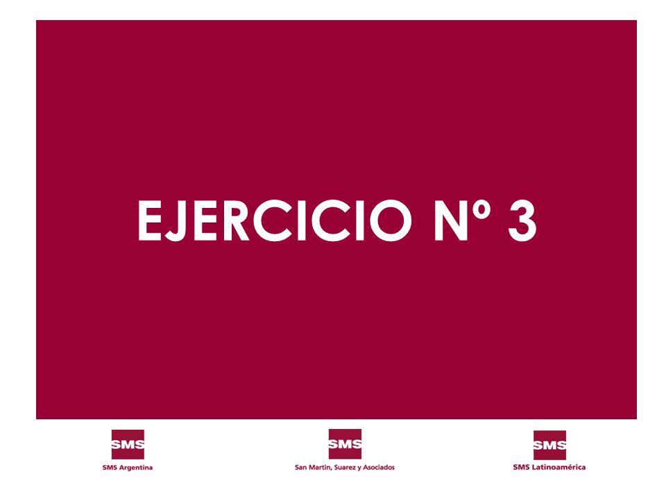 EJERCICIO Nº 3