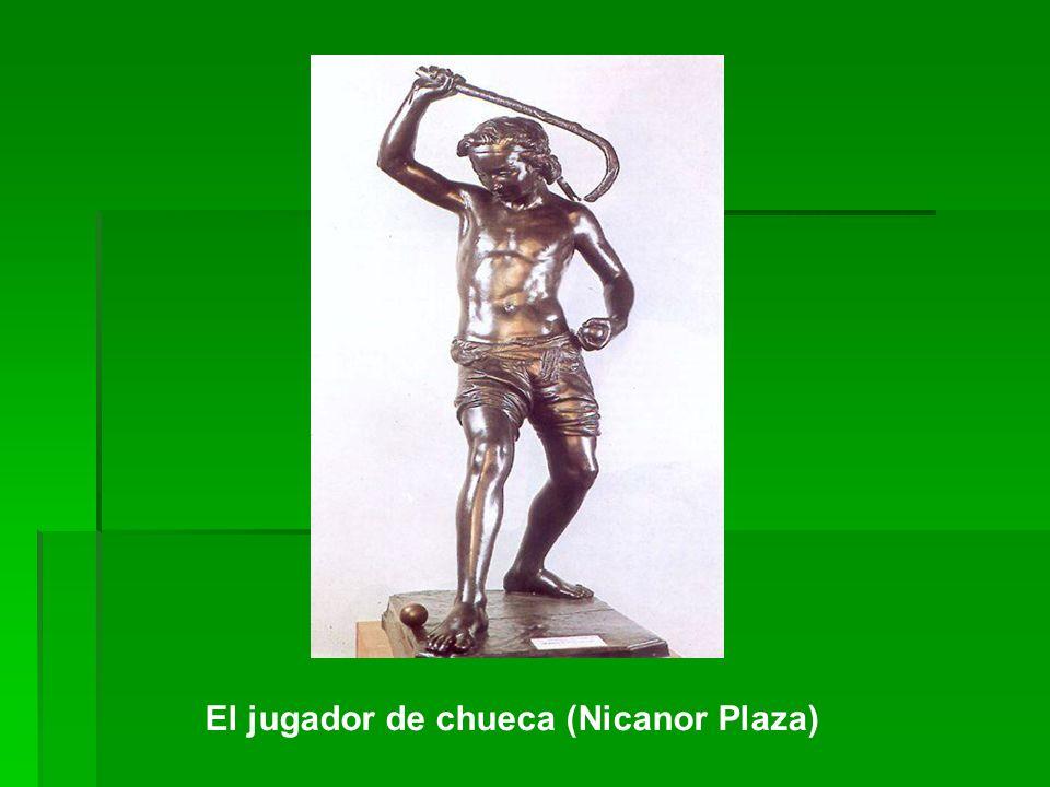 El jugador de chueca (Nicanor Plaza)