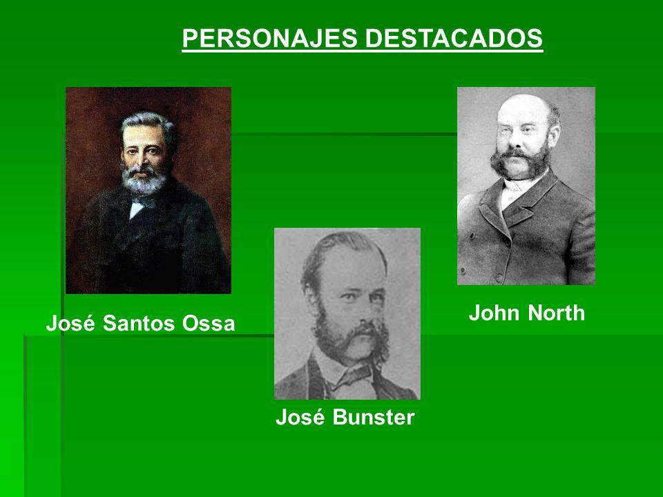 José Santos Ossa José Bunster John North PERSONAJES DESTACADOS