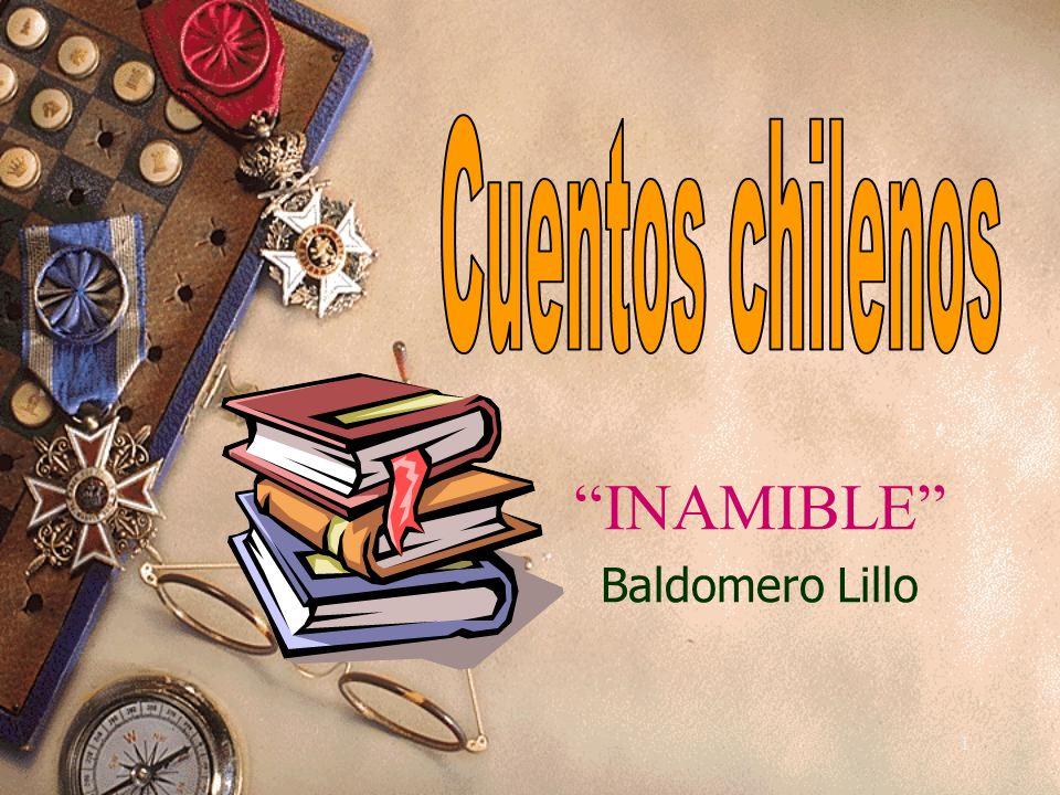 1 INAMIBLE Baldomero Lillo