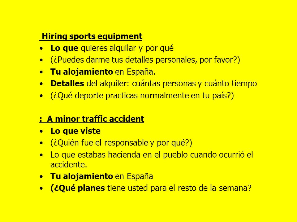 More C RPs for practise- learn the vocab And note the most common bullet points .