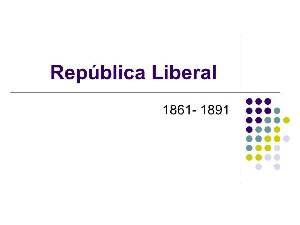 República Liberal 1861- 1891
