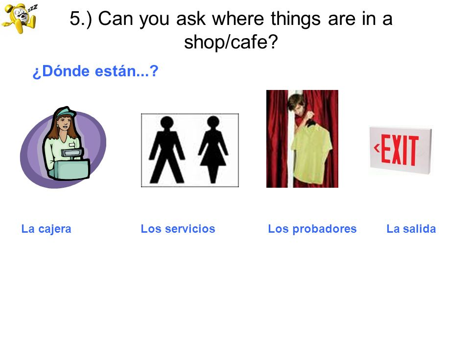 16.) Do you know all the question words.¿ Qué. ¿Cuál.