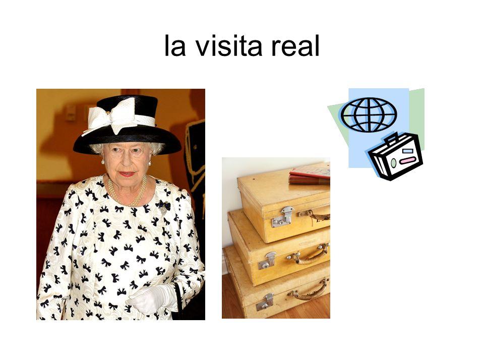 la visita real