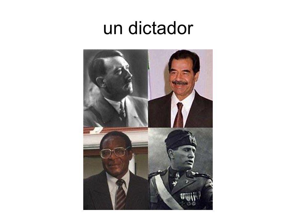 un dictador