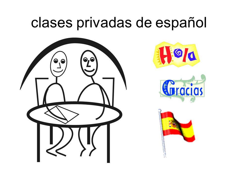 clases privadas de español