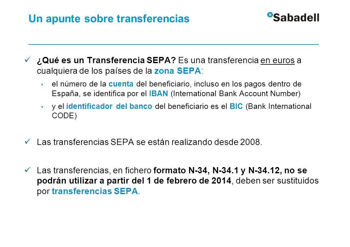 Más información sobre SEPA Página web de la Comisión Seguimiento de la Migración a la SEPA http://www.sepaesp.es/sepa/es/ Página web SEPA del Banco de España http://www.bde.es/bde/es/areas/sispago/Una_vision_gener/La_Zon a_Unica_de/La_Zona_Unica_d_4bafb69c8d20921.html Página web SEPA del Banco Central Europeo http://www.ecb.europa.eu/paym/sepa/html/index.en.html Página web SEPA de la Comisión Europea http://ec.europa.eu/internal_market/payments/sepa/index_en.htm Página web SEPA del European Payment Council http://www.europeanpaymentscouncil.eu/