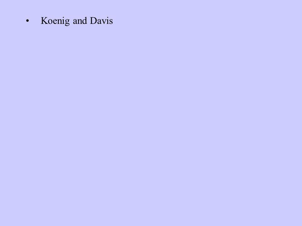 Koenig and Davis