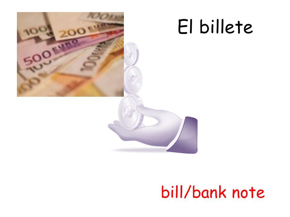 El efectivo cash