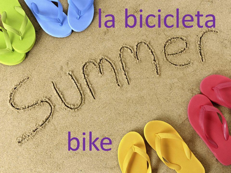la bicicleta bike