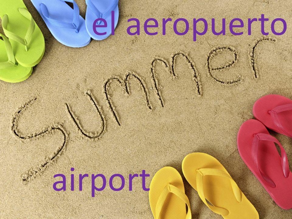 el aeropuerto airport