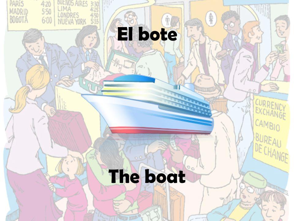 El bote The boat