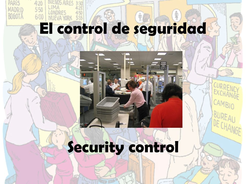 El control de seguridad Security control