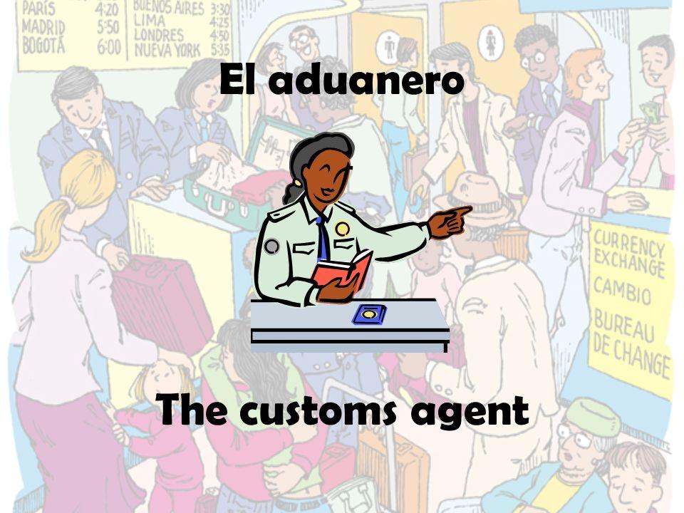 La agente The agent
