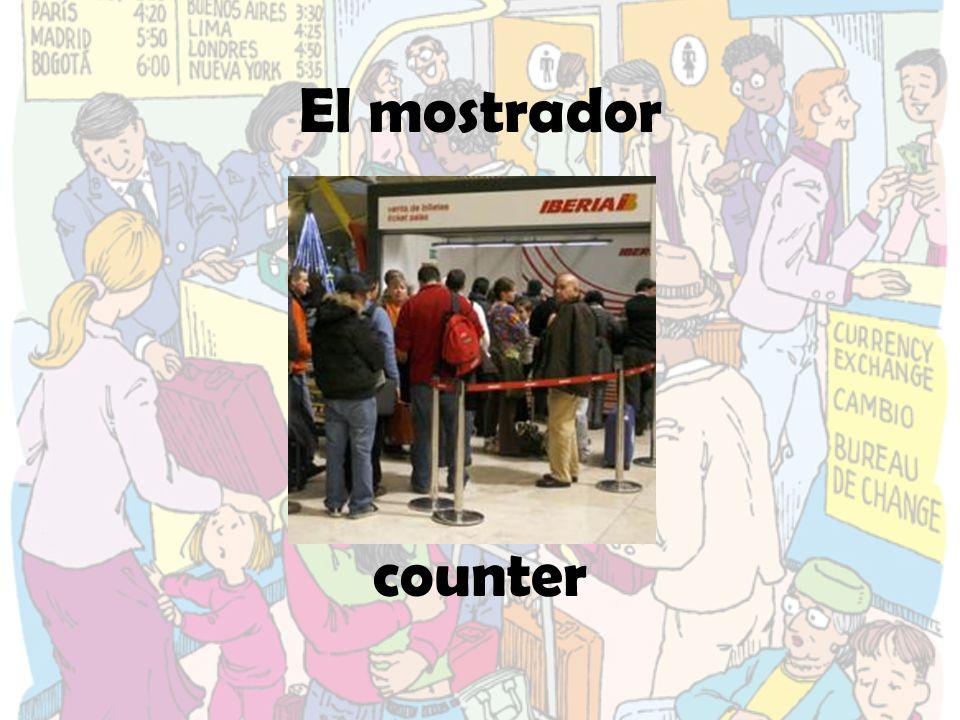 El mostrador counter