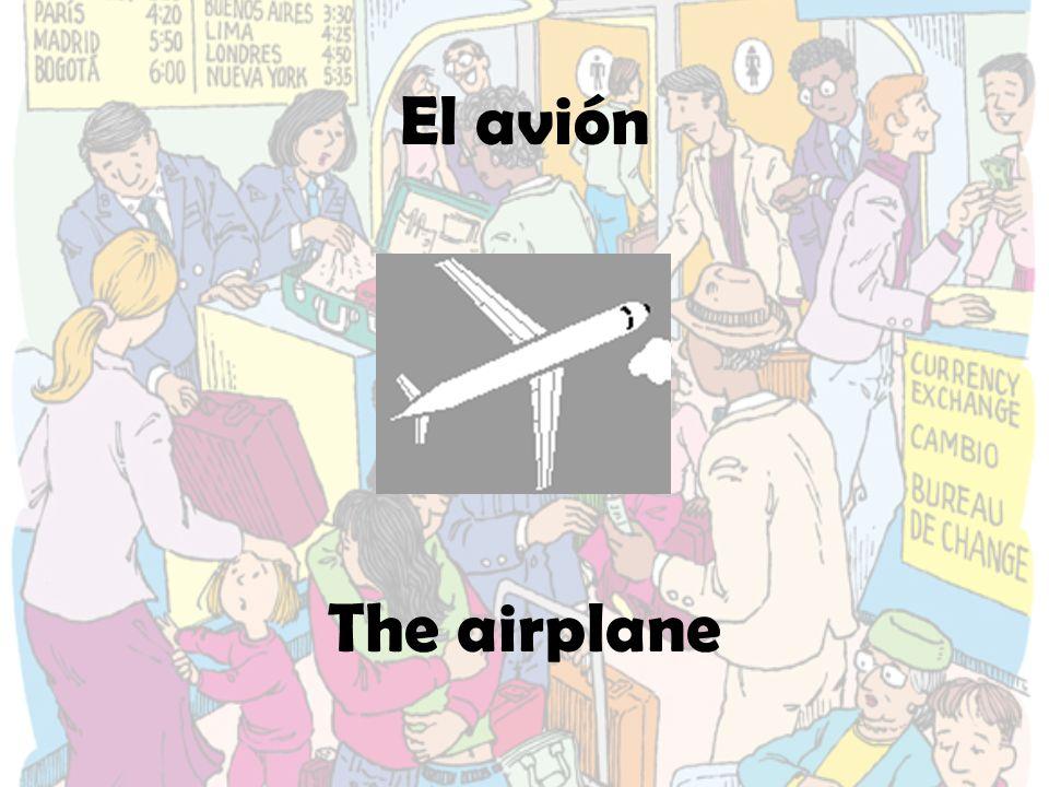 El horario de vuelos Flight schedule