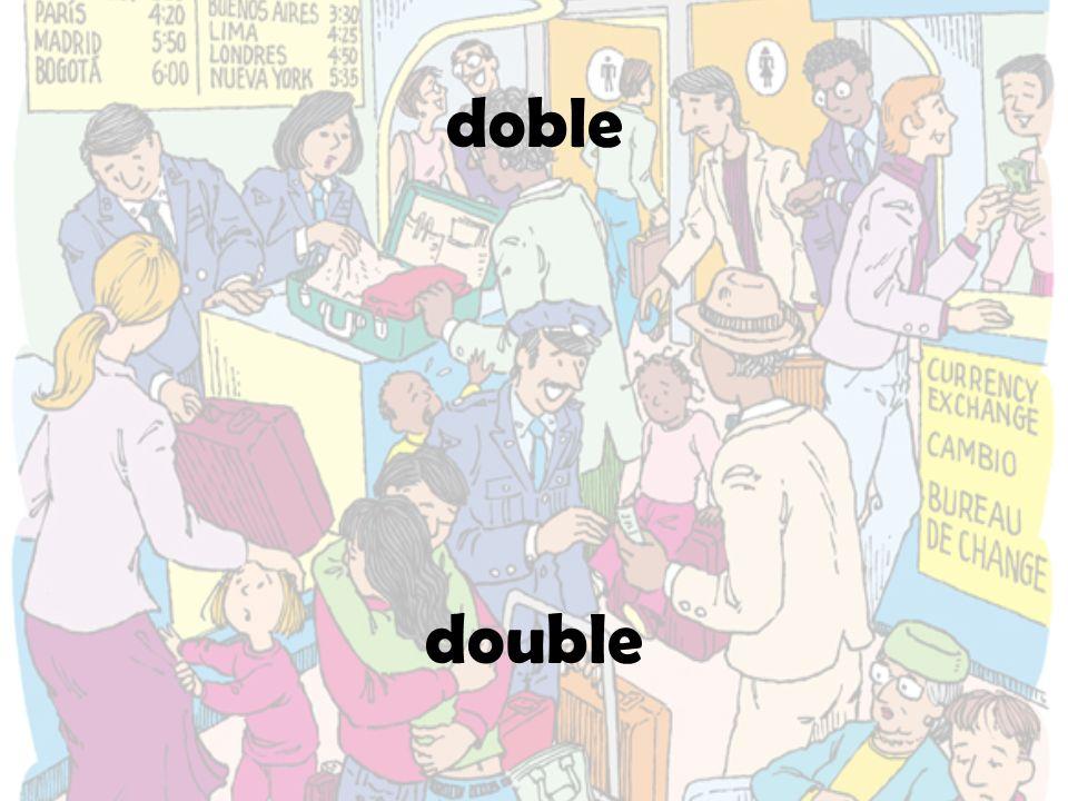 doble double