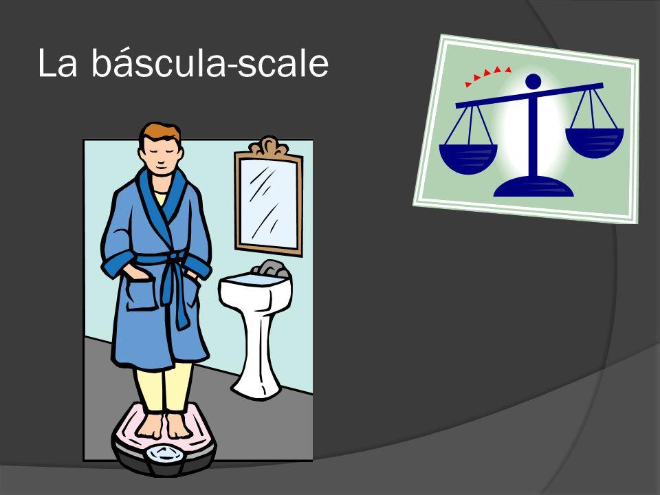 La báscula-scale