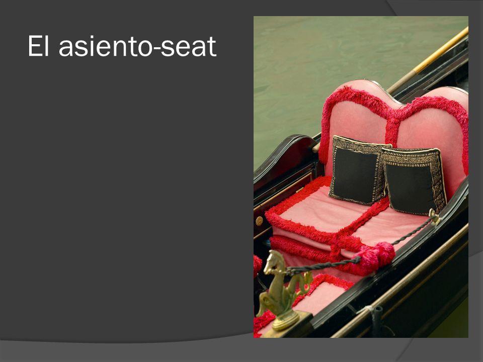 El asiento-seat