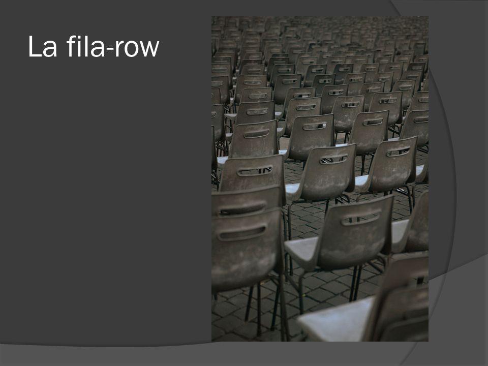 La fila-row