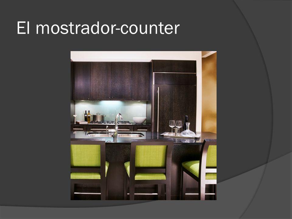 El mostrador-counter