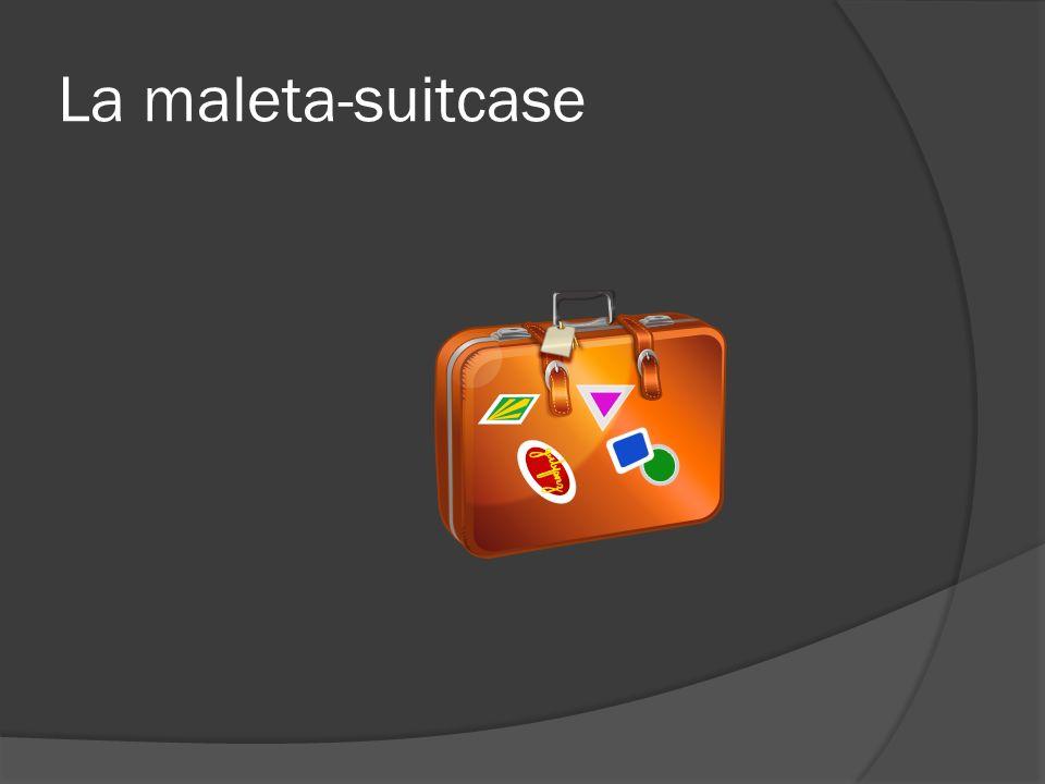 El maletero/a-trunk
