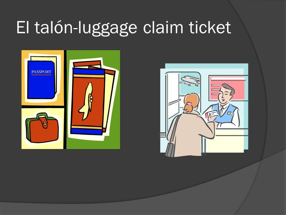 El equipaje- luggage,baggage