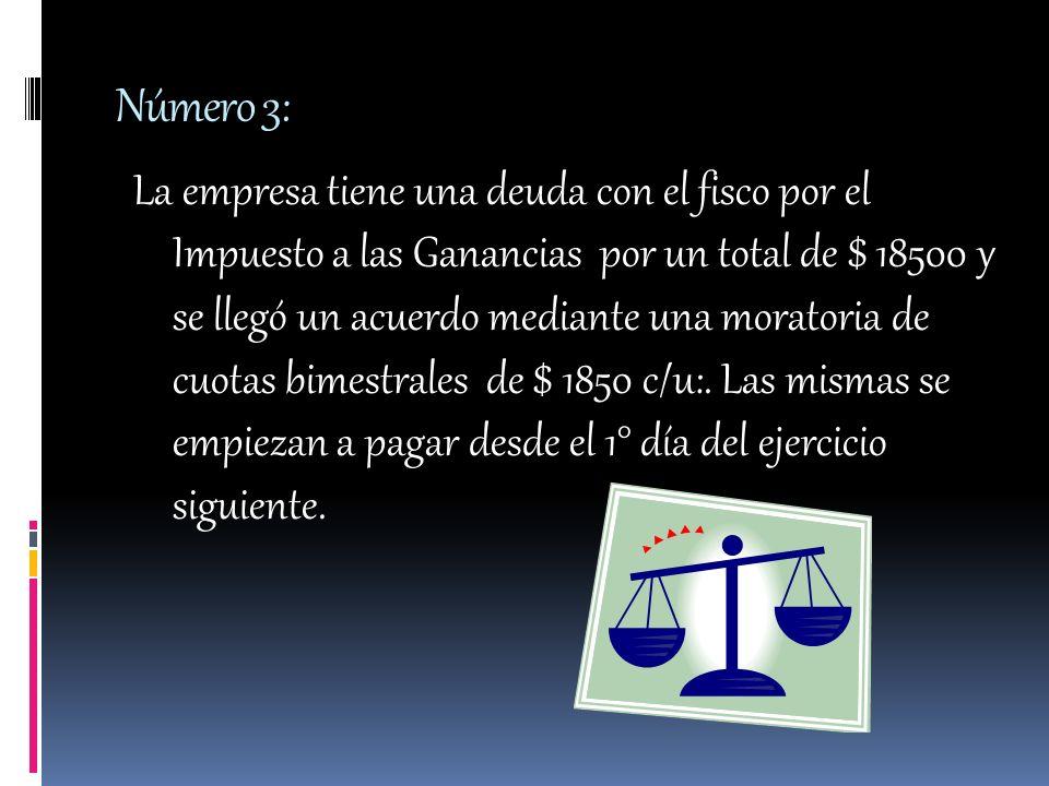 Número: 4 Se hace el recuento del dinero en efectivo de las 2 cajas que tiene la empresa.