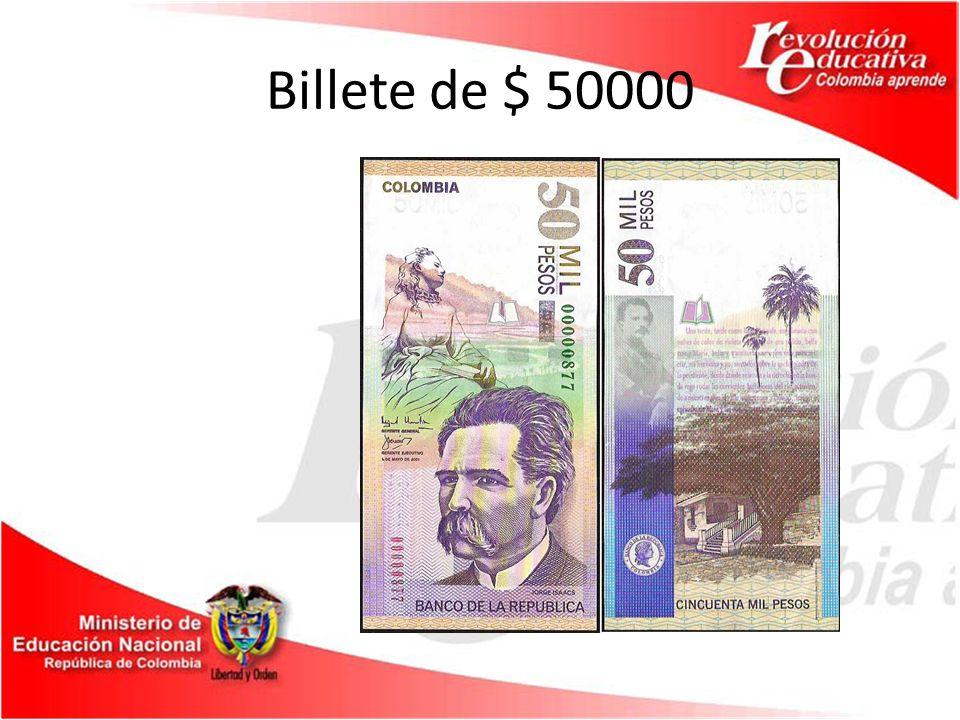 Billete de $ 50000