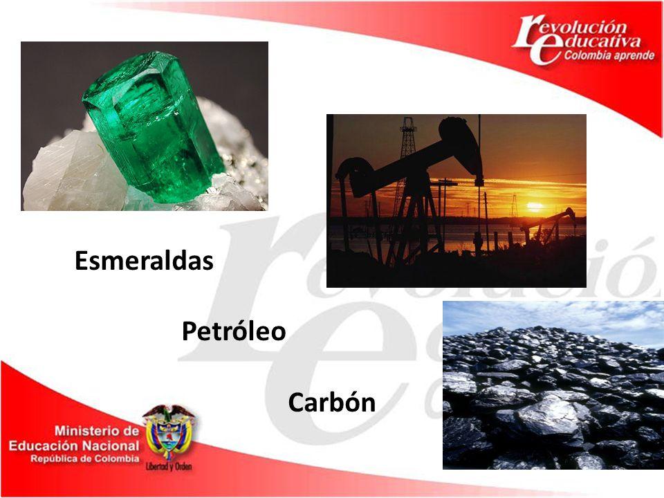 Esmeraldas Petróleo Carbón
