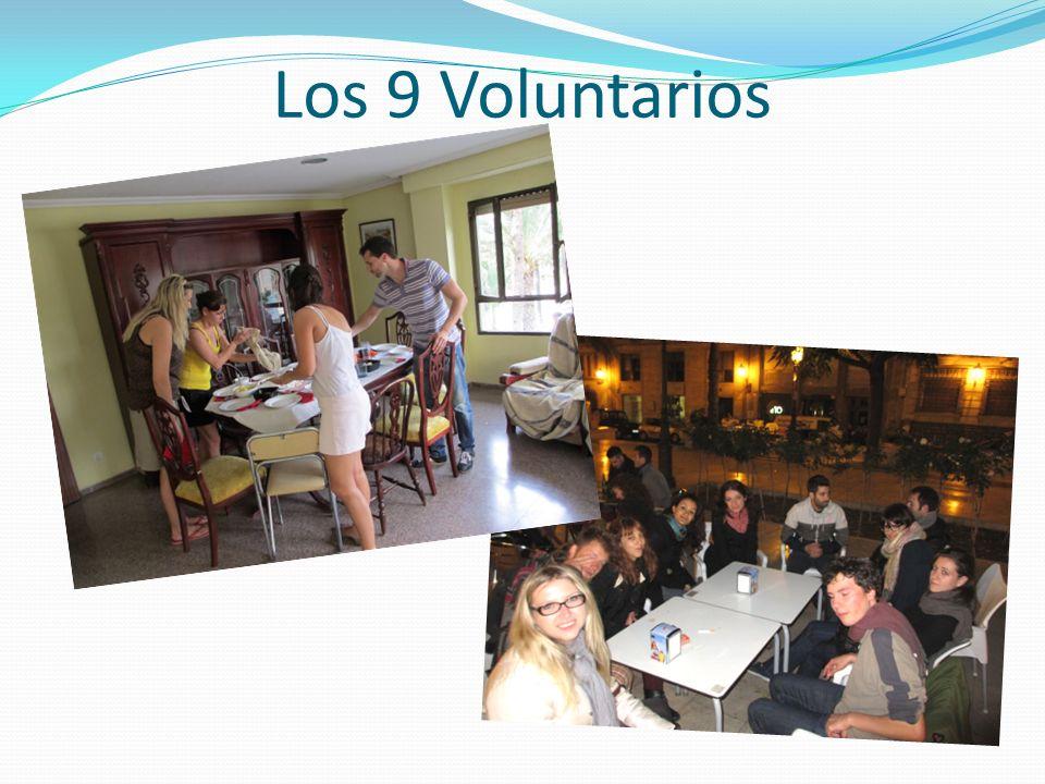 Los 9 Voluntarios