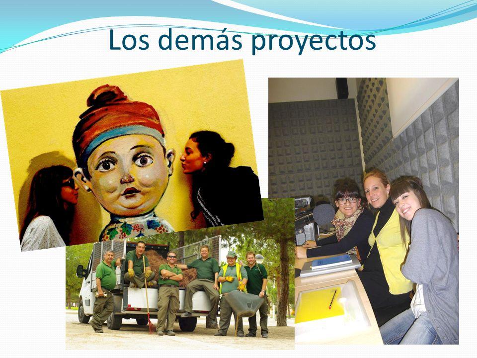 Los demás proyectos