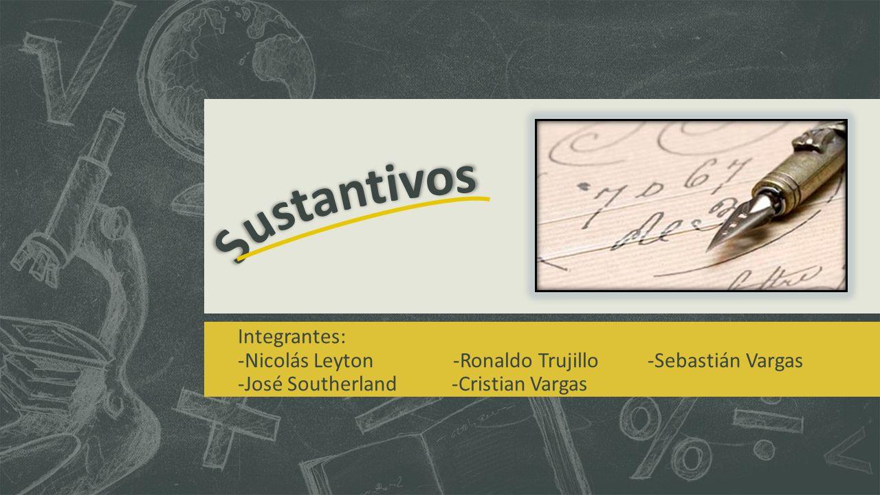 Integrantes: -Nicolás Leyton -Ronaldo Trujillo -Sebastián Vargas -José Southerland -Cristian Vargas
