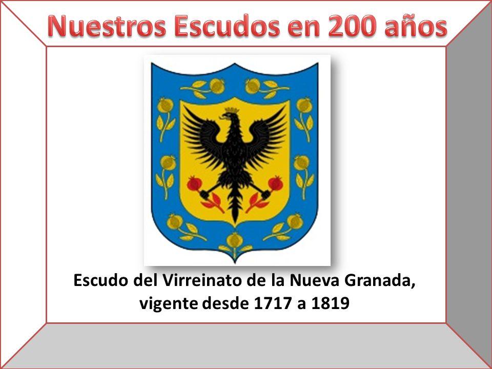 Escudo del Virreinato de la Nueva Granada, vigente desde 1717 a 1819