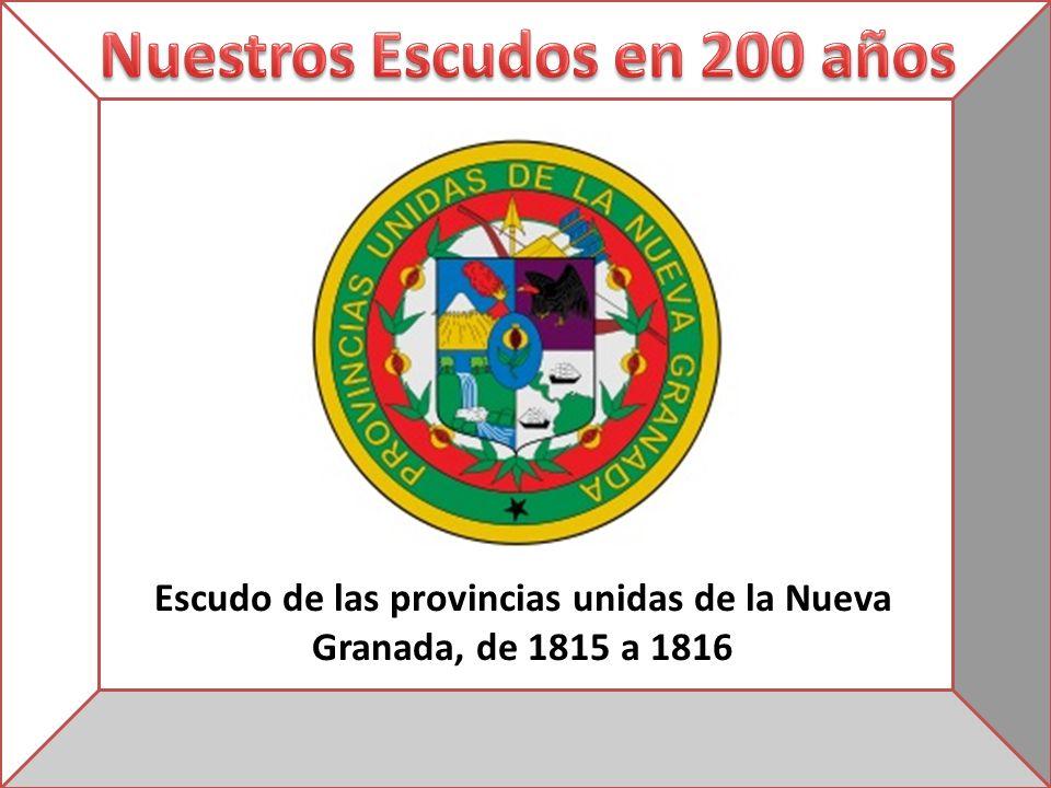 Escudo de las provincias unidas de la Nueva Granada, de 1815 a 1816