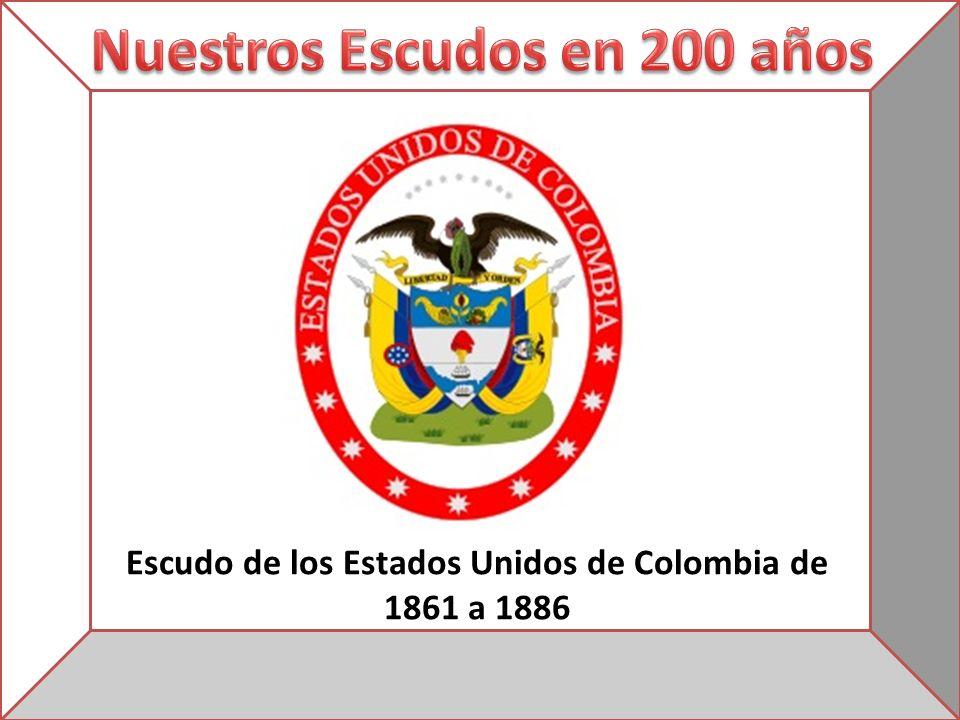 Escudo de los Estados Unidos de Colombia de 1861 a 1886