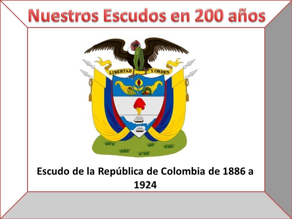 Escudo de la República de Colombia de 1886 a 1924