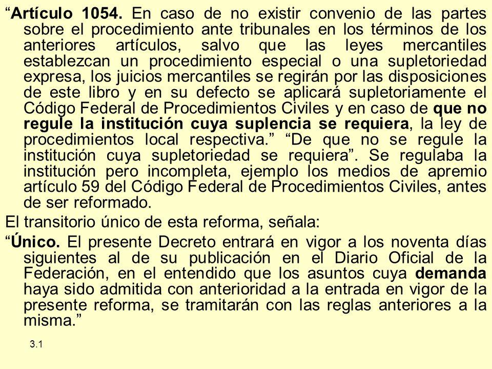 3.1 Artículo 1054.