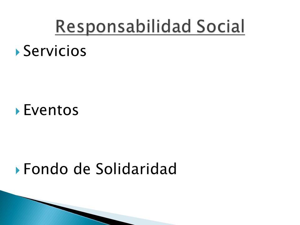 Servicios Eventos Fondo de Solidaridad