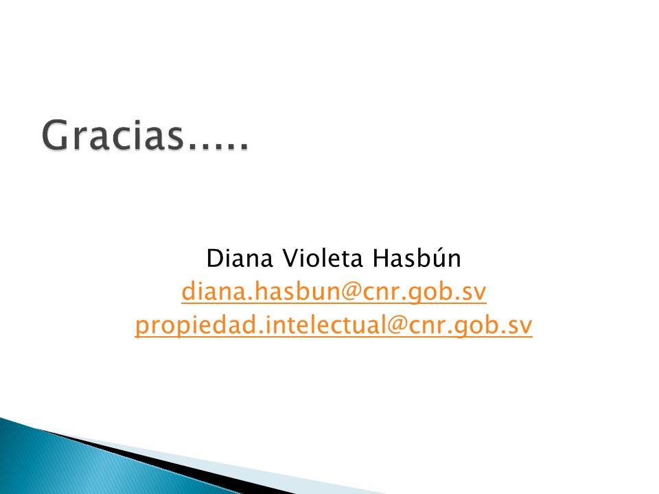 Diana Violeta Hasbún diana.hasbun@cnr.gob.sv propiedad.intelectual@cnr.gob.sv